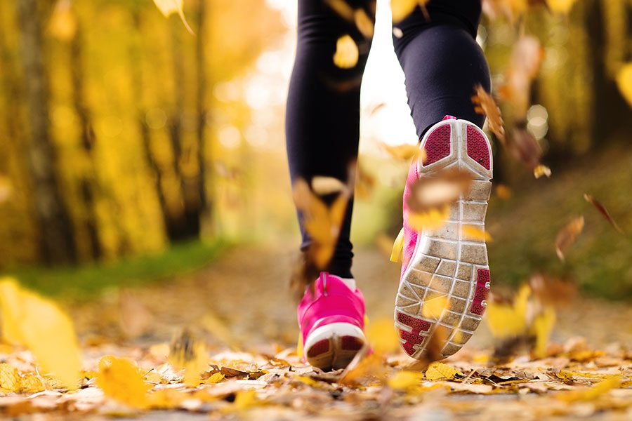 fall fitness tips for mom